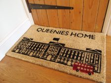 Queenies Home Door Mat by Parlane